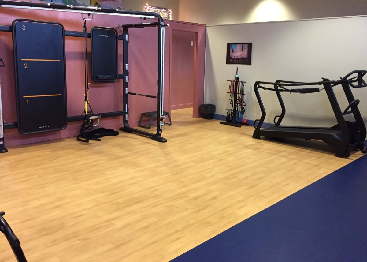 Personal & Cross Training Area